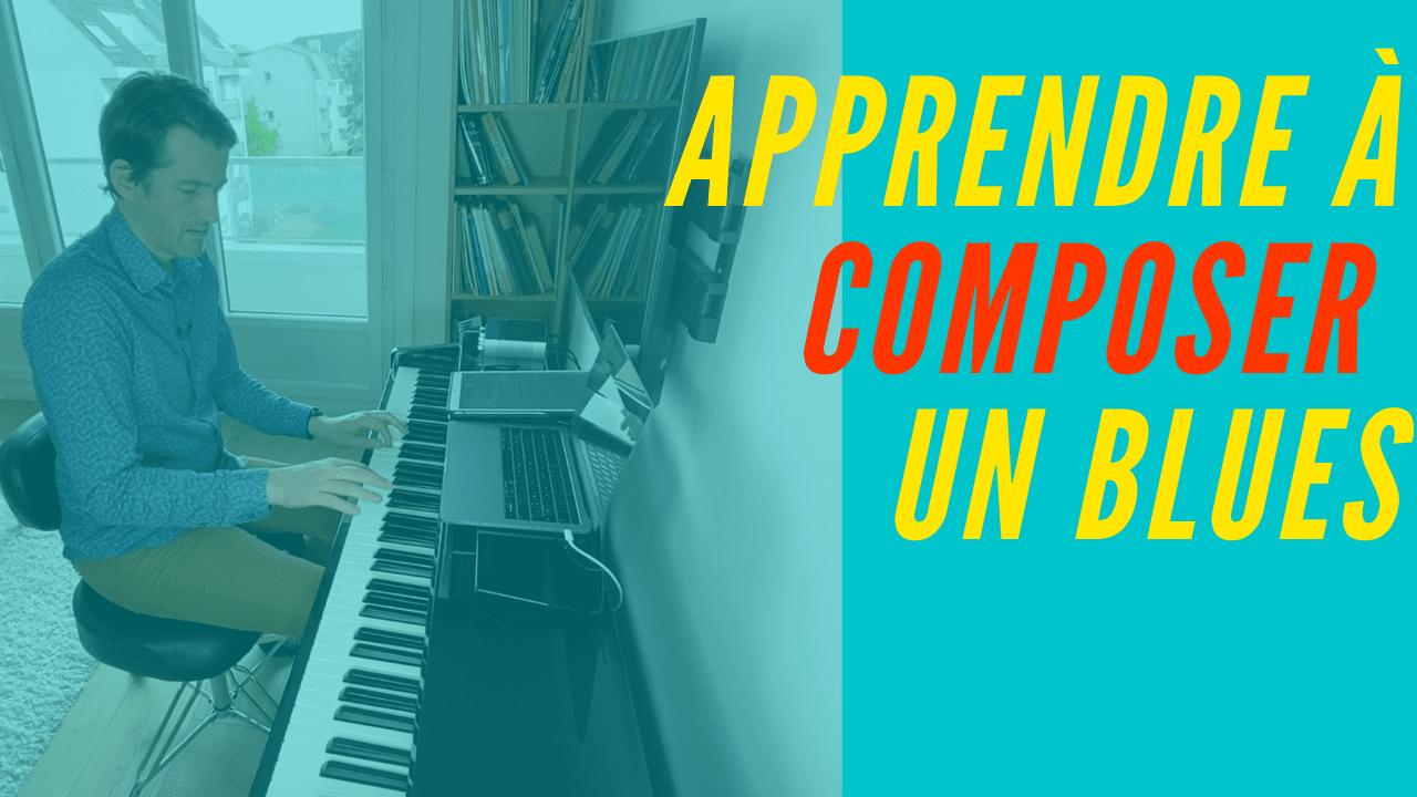 Tous les secrets d'une composition blues, efficace et créative