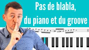10 Phrases Funky Jazz Piano Licks