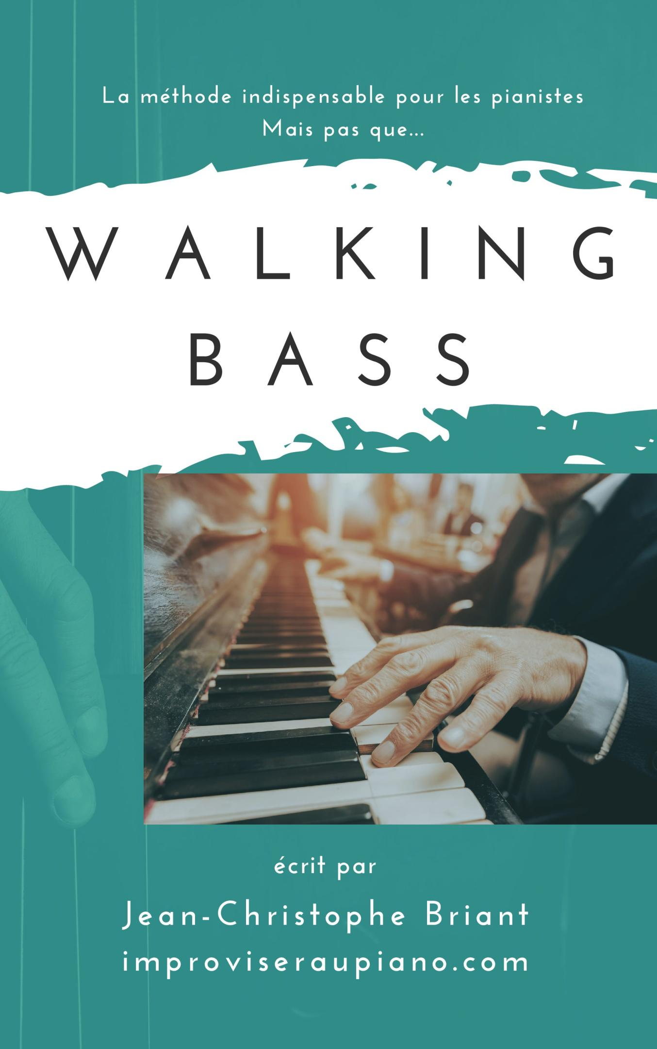 Méthode walking bass piano jazz
