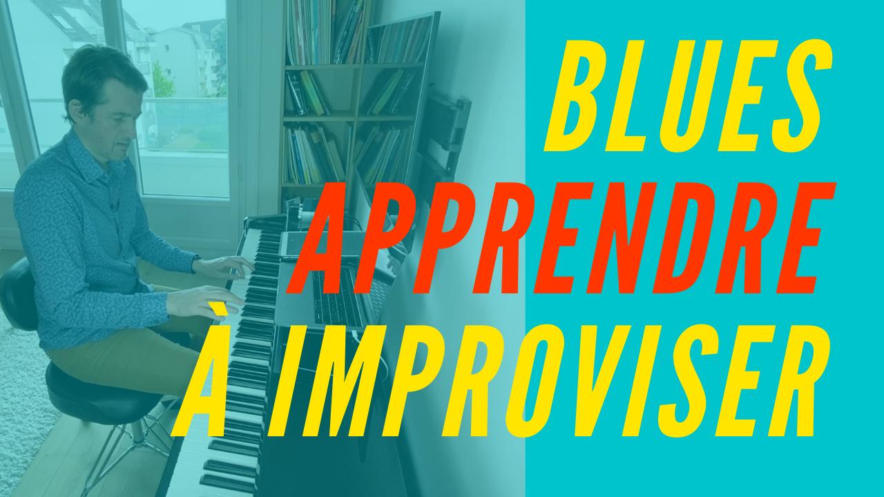 Blues, apprendre à improviser au piano
